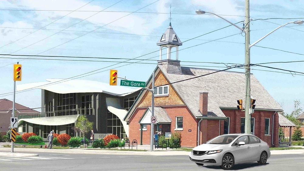 The Ebenezer Community Hall + Market studio design project