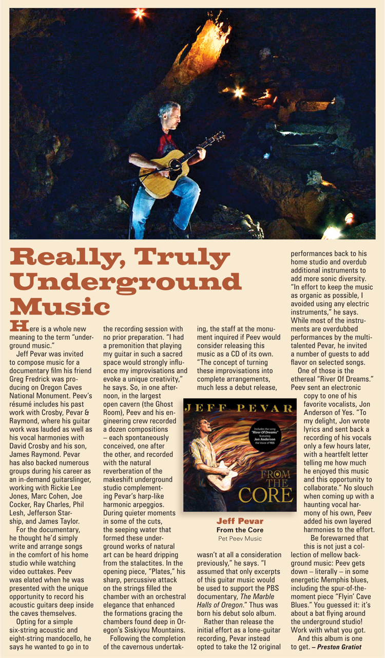 Vintage Guitar Review For From The Core