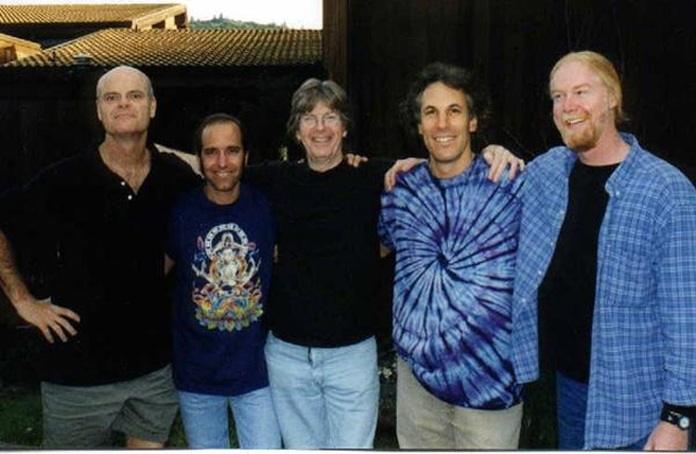 L-R: John Molo, Rob Barroco, Phil Lesh, Jeff Pevar & Jimmy Herring