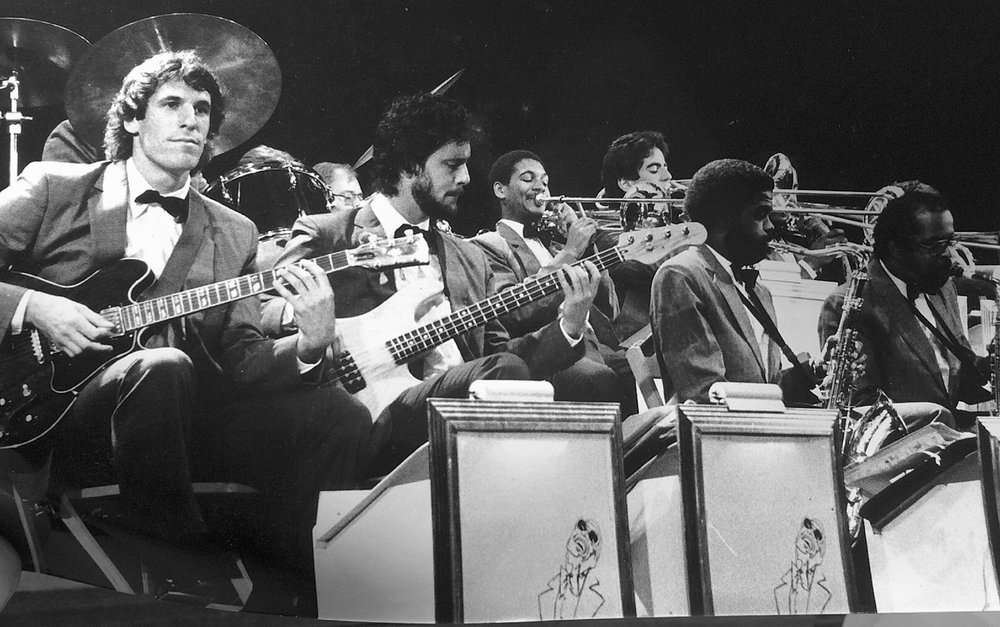 JP w/ Ray Charles Orchestra 1985
