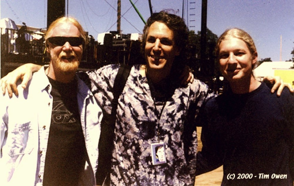 Jimmy Herring, JP & Derek Trucks Photo: Tim Owen