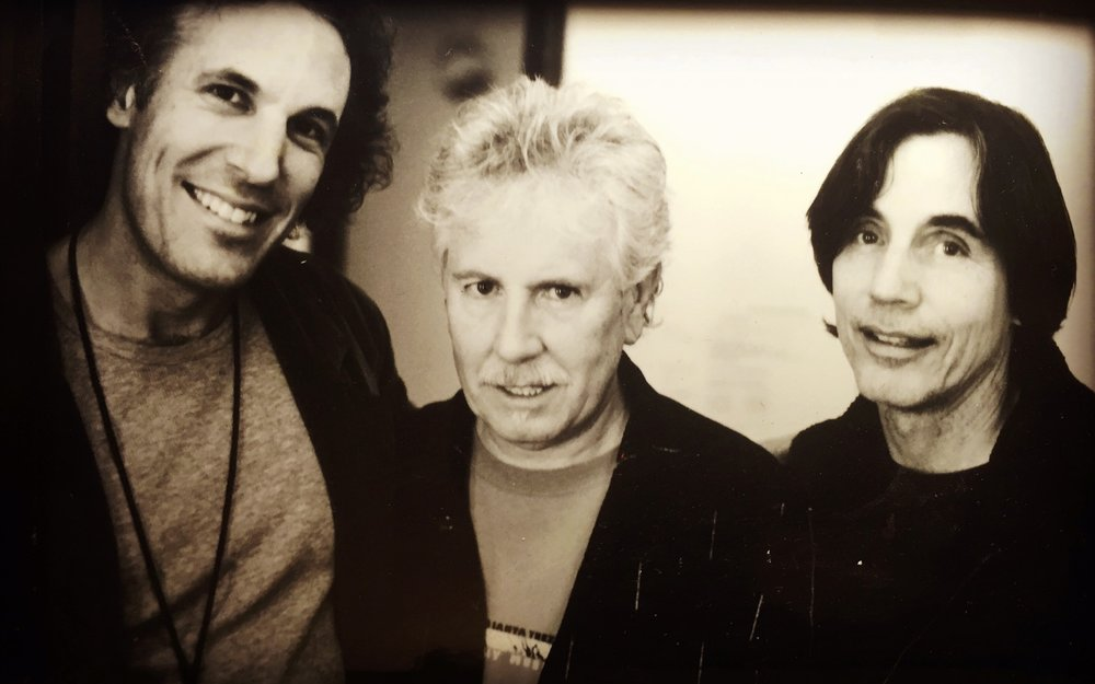 JP, Graham Nash & Jackson Browne-Photo: Victoria Smith