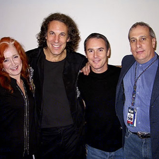 Bonnie Raitt, JP, James Raymond & Hutch Hutchinson