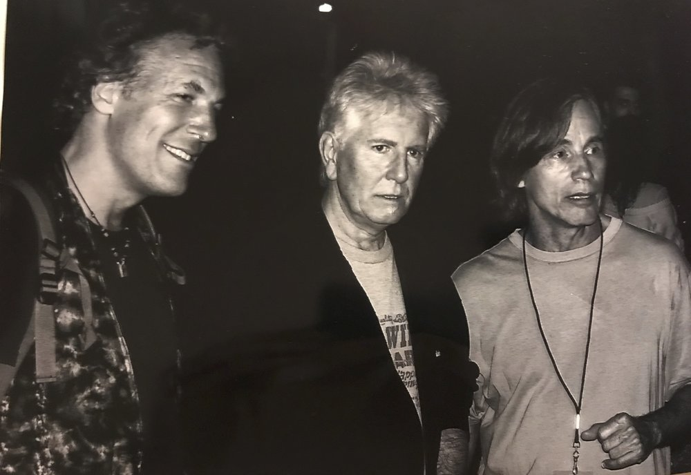 JP w/ Graham Nash & Jackson Browne - Photo: Francesco Lucarelli