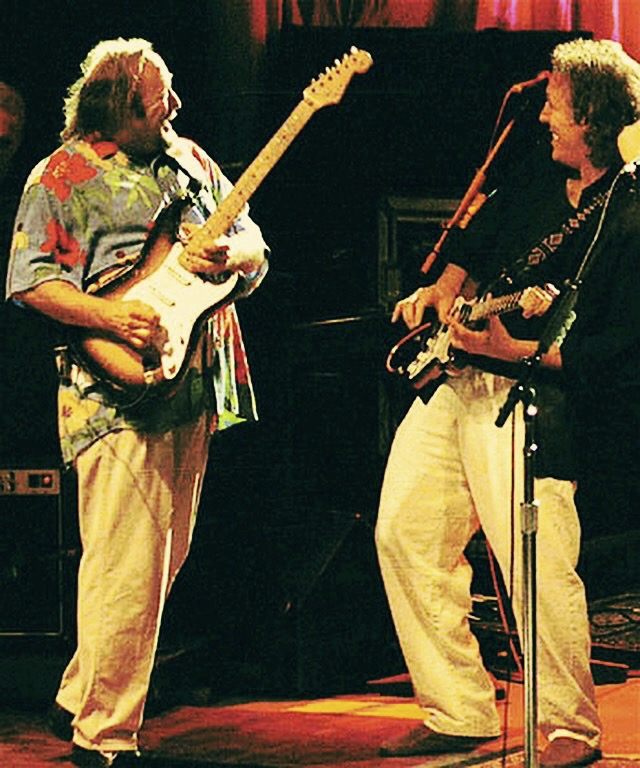 Stephen Stills & Jeff Pevar Photo: Buzz Person