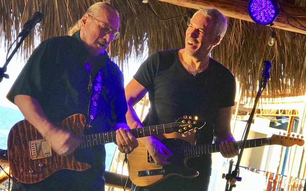 Playing Mexico w/ Steve Cropper