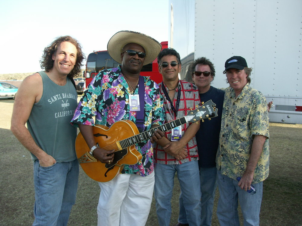JP, Taj Mahal, Kenny Gradney, Ritchie Hayward & Billy Payne