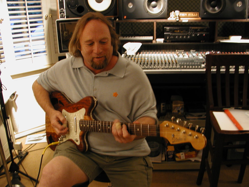 Stephen Stills Tries JP's Strike 2 Guitar