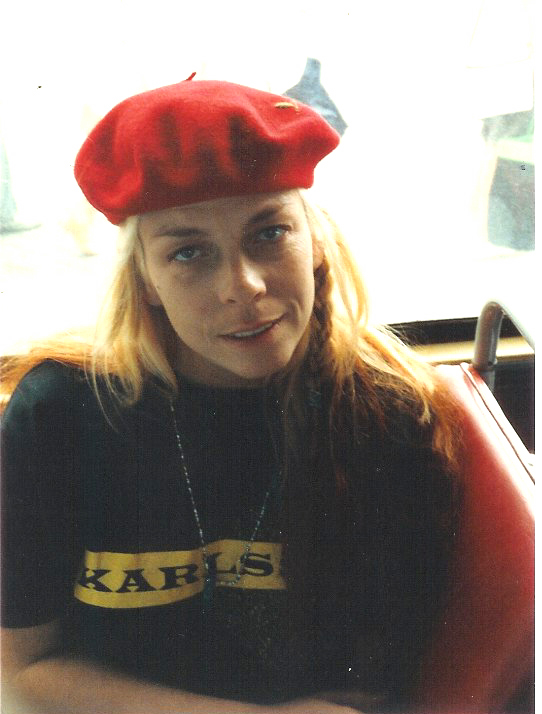 Rickie Lee Jones Tour 1985 - Photo: JP