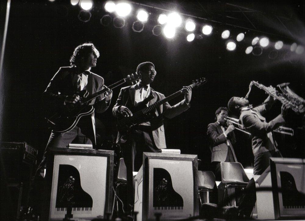 JP & Ray Charles Orch -1985