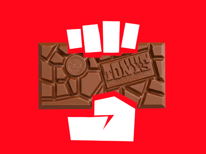 Tony's Chocolonely on a mission to make all chocolate 100% slave free (   source   )