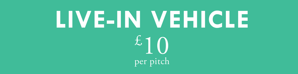 - Added to the booking if bringing a live-in vehicle7m x 8m pitchBetter access to the pitch-