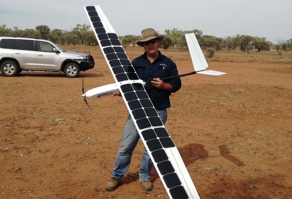 From generating savings to adding value - Sunbirds replaces manned aircraft and land vehicles saving fuel, labour and maintenance costs. Our drones require virtually zero maintenance, don't burn any fuel, nor do they pollute in any way or require a pilot. In addition to cutting costs, we help station managers optimize their operations and provide information for better decision-making regarding pasture management and cattle nutrition, health & growth.