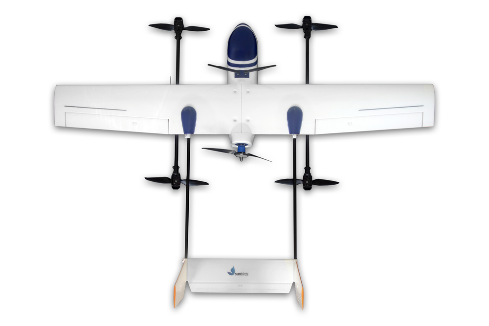 Fly like a Plane, Land like a Multirotor - No matter how rough and small your landing area is, the VTOL capabilities of this drone enables any mission at any place without the fear of damaging the fuselage or the payload. It will vertically take-off and land with accuracy to realize large scale missions.