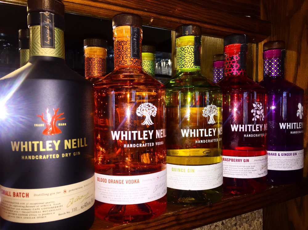 A selection of Whitley Neill Gins…