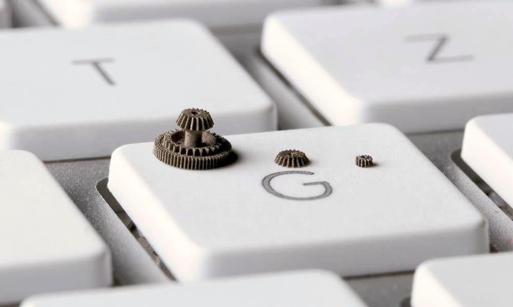 Miniature powdered metal parts