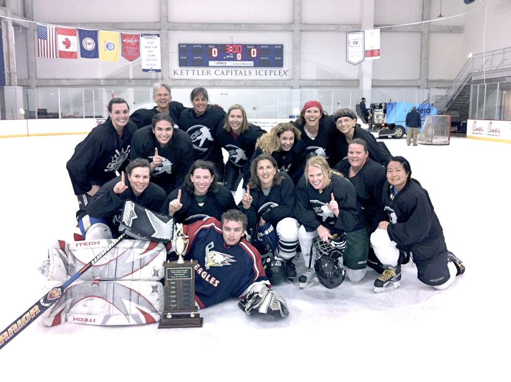 Championship hockey team!