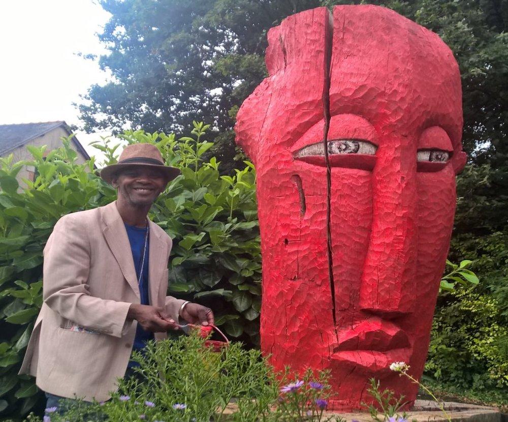 Ousmane Gueye — l'artiste en résidence -
