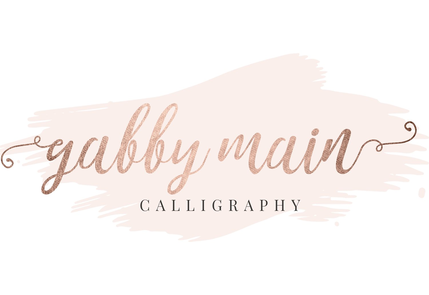 Gabby Main Calligraphy