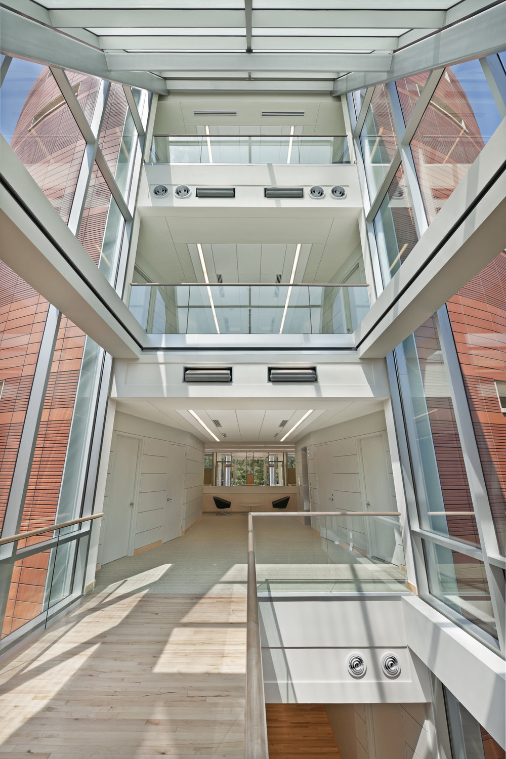 North Carolina Biotechnology Center photo | staircase