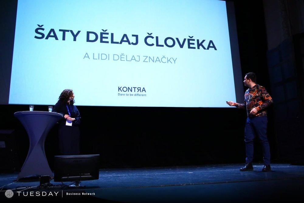 Brandstorming conference Prague 2019: Adam Ondráček & Nikola Frollová
