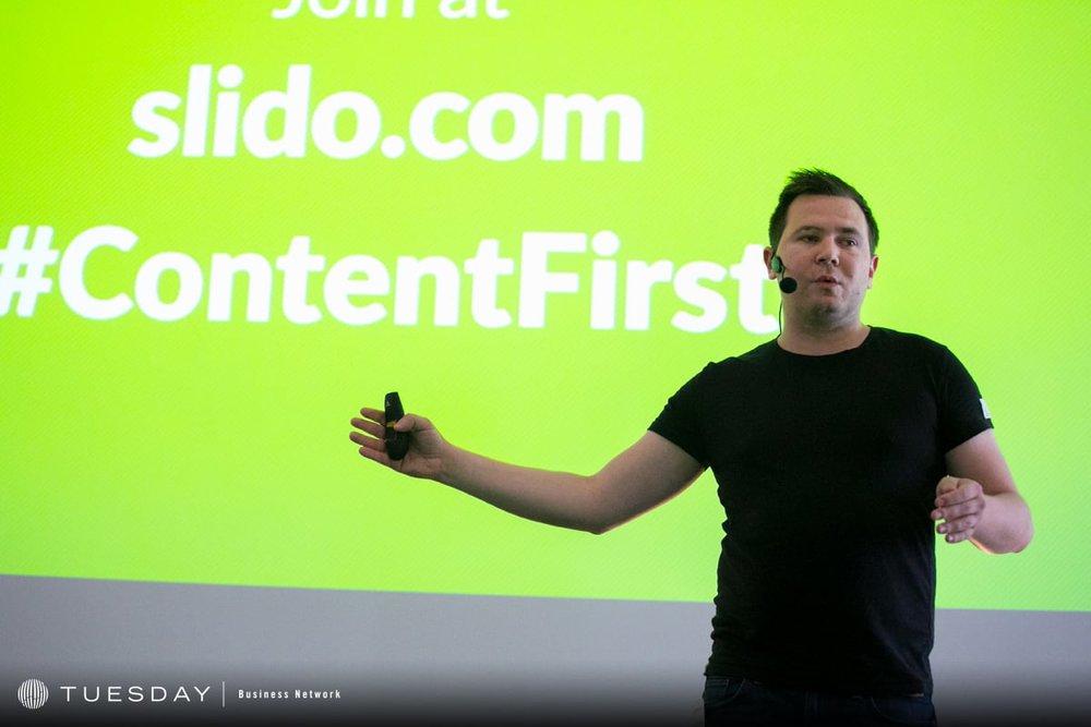 Content First 2017: Adam Ondráček