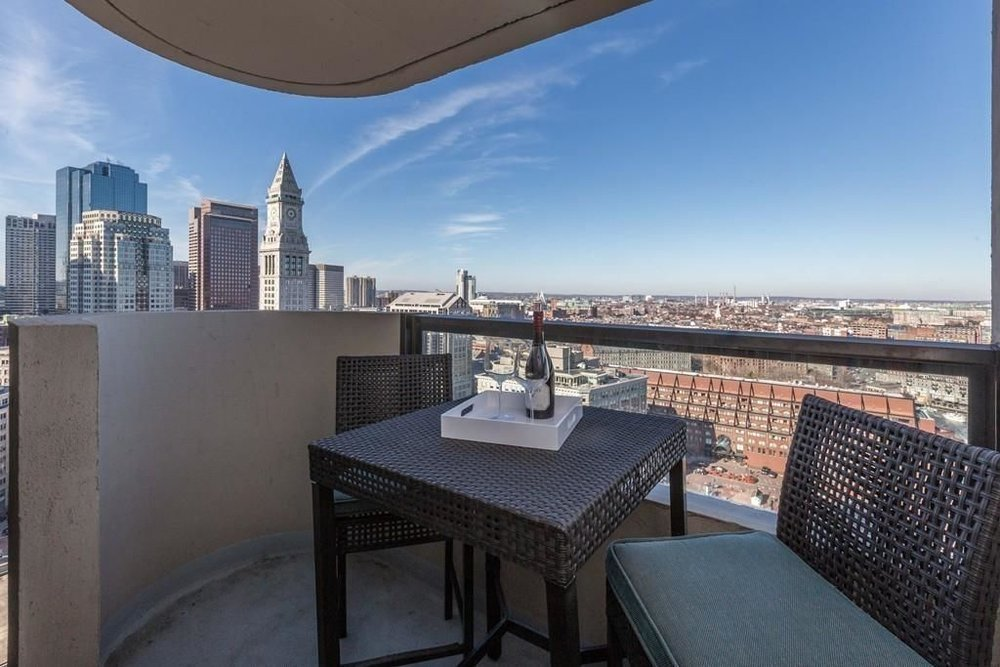 Boston, MA - Introducing 85 East India Row Unit 25G located at Harbor Towers in Boston, MA. This two bedroom condo sold on 4/3/17! Our clients love sitting outside on the patio overlooking the beautiful Boston Harbor!
