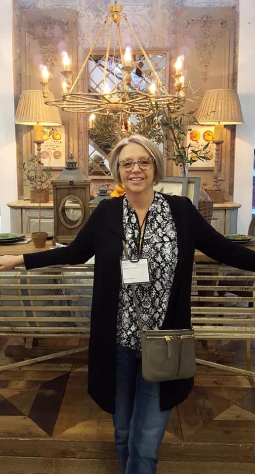 Our owner, Mary Nyffeler, regularly attends Market to find the latest and greatest products for our customers!