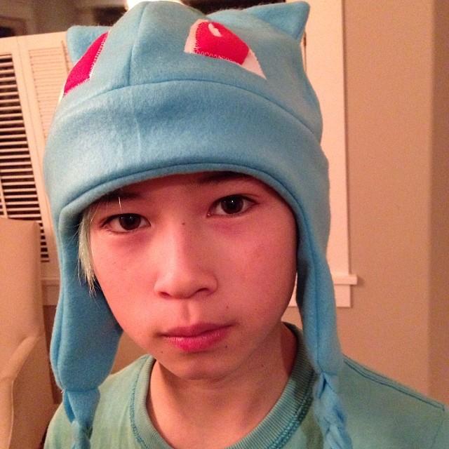Pokemon hats for the kids #pokemon #balbasaur