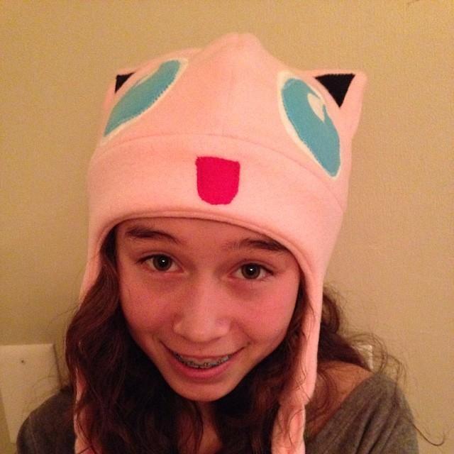 Pokemon hat for Zoe #pokemon #jigglypuff