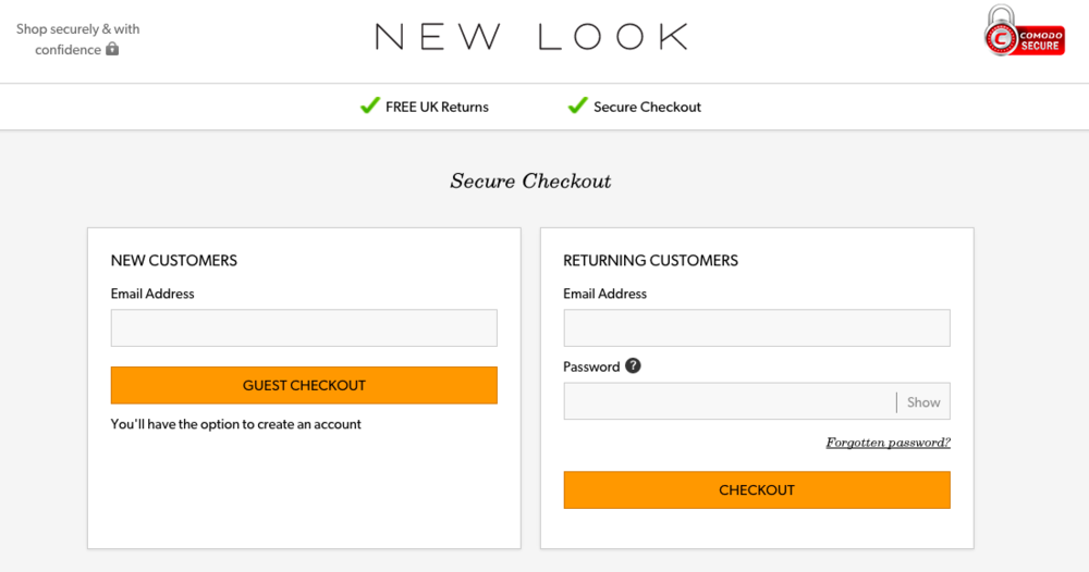Mobile checkout was performing poorly - The analytics showed that there was an unexpectedly high bounce rate from mobile checkout users on the New Look website. The business wanted to know why and also improve conversion.