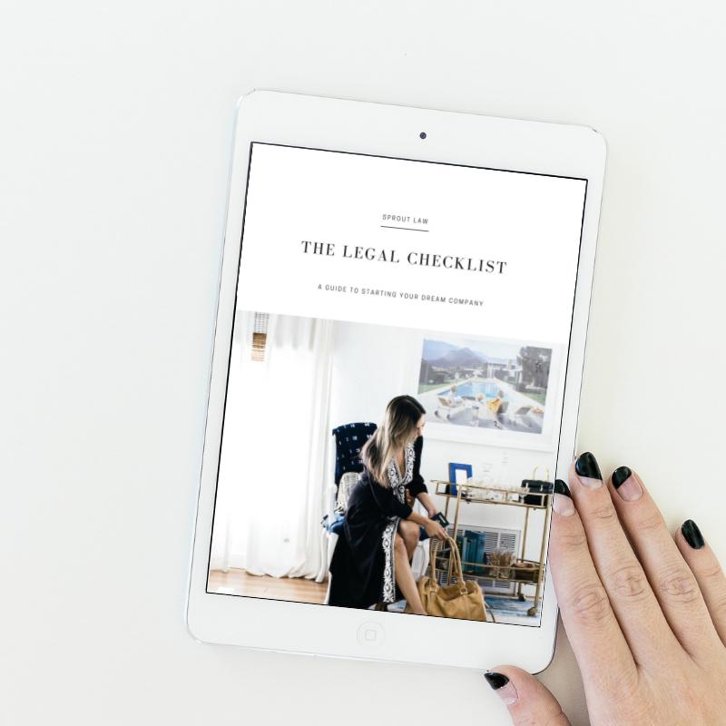 The Legal Checklist