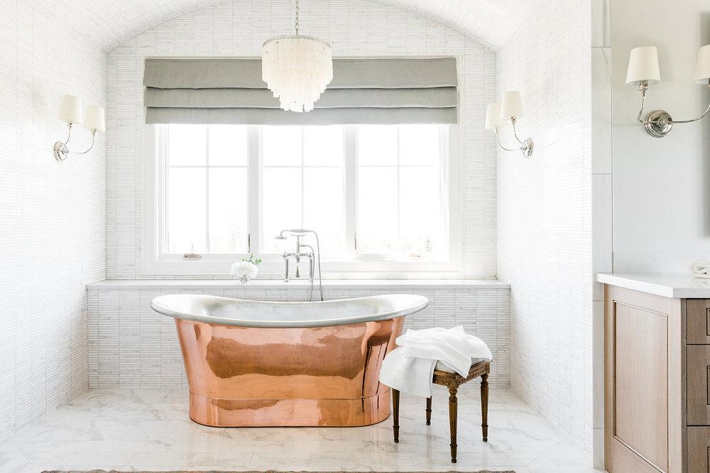 Bathroom Copper Bathtub Sunrise Drive