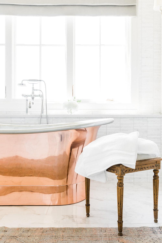Copper Tub Details Sunrise Drive