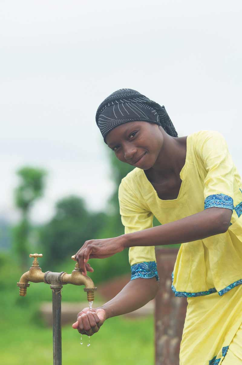 Access to clean water and sanitation is one of the United Nations' 17 Sustainable Development Goals.  ISTOCK.COM
