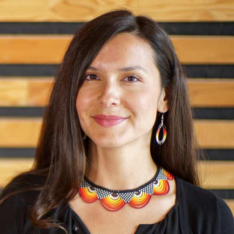 Melina Laboucan-Massimo, member of the Lubicon Cree First Nation from Northern Alberta, Fellow at the David Suzuki Foundation, TV series host