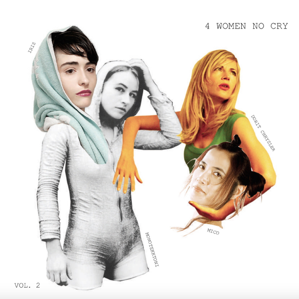 4 women no cry   '4 women no cry' Volume 2 released by Monika-Enterprise. Mieko Shimizu contributed two tracks 'Signal Found' and' After Rain'.  Released 2006 available from   Monika Enterprise