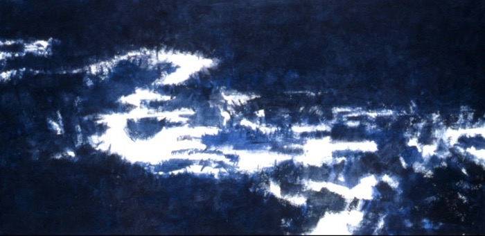 "Painting ""Meditation"" by Hermann Sigg"
