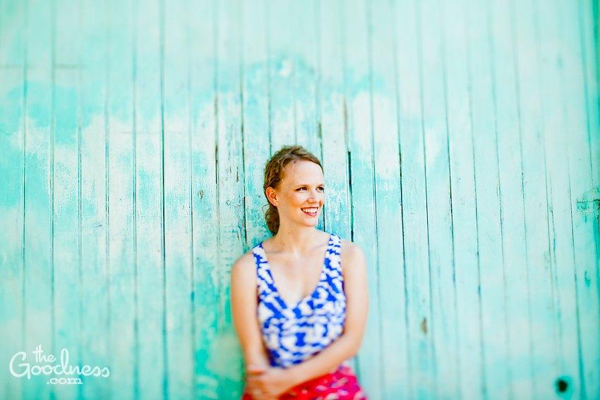 Elise's Blue Wall
