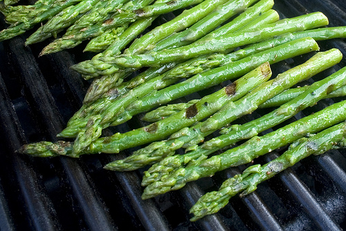 Lightly Grilled Asparagus