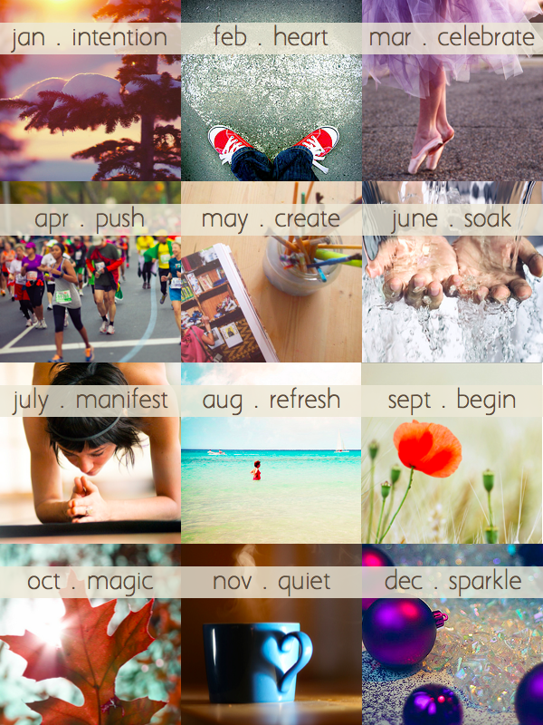 image :: 12 Intentions for 2012 - Kaileen Elise