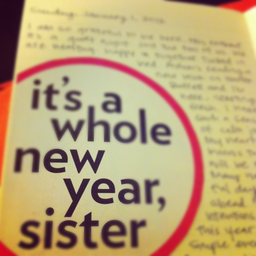 image :: a whole new year