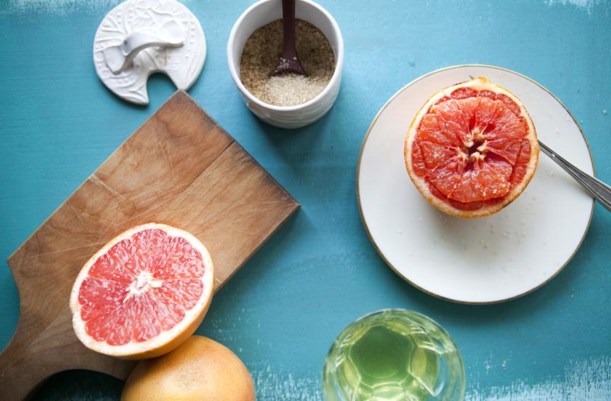 image :: simply breakfast grapefruit
