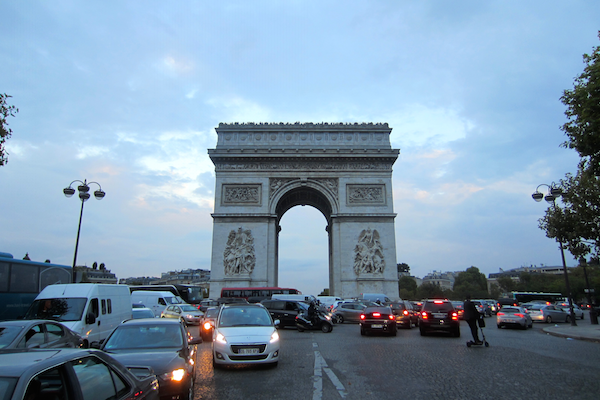 Arc de Triomphe | Europe Trip - Highlights from Paris | kaileenelise.com