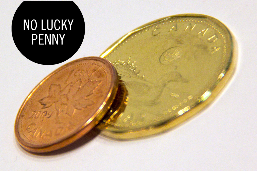 Goodbye Canadian Penny
