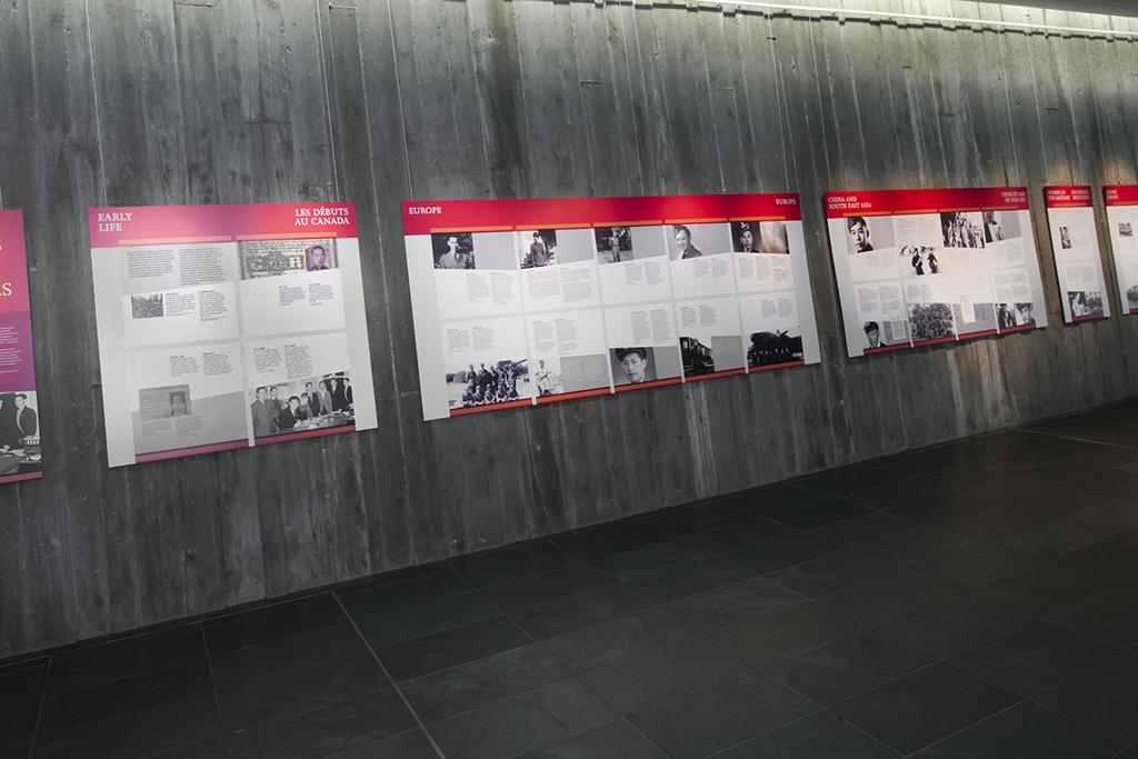 Canadian war exhibit