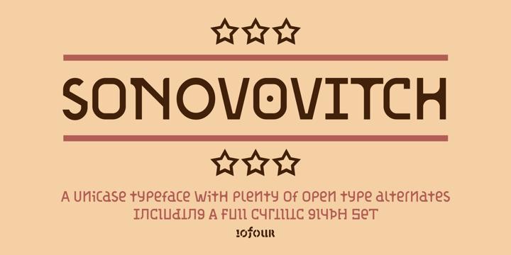 custom typeface design