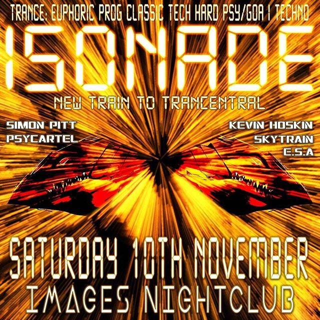 Next gig, November 10th @ Isonade! Plymouth