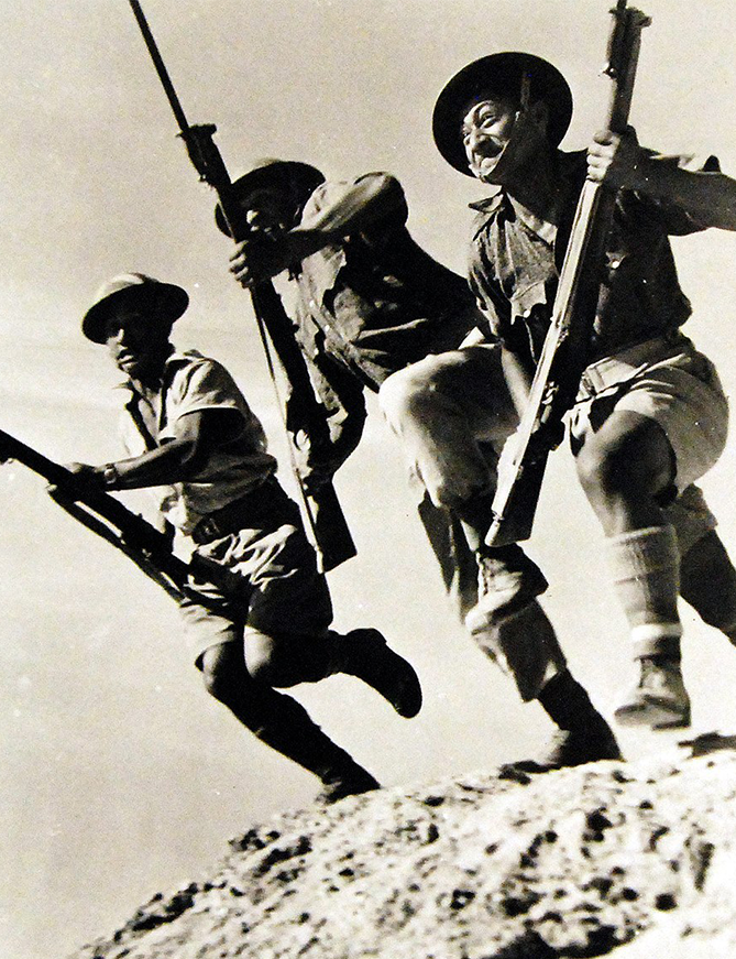 - New Zealand Soldiers in Action