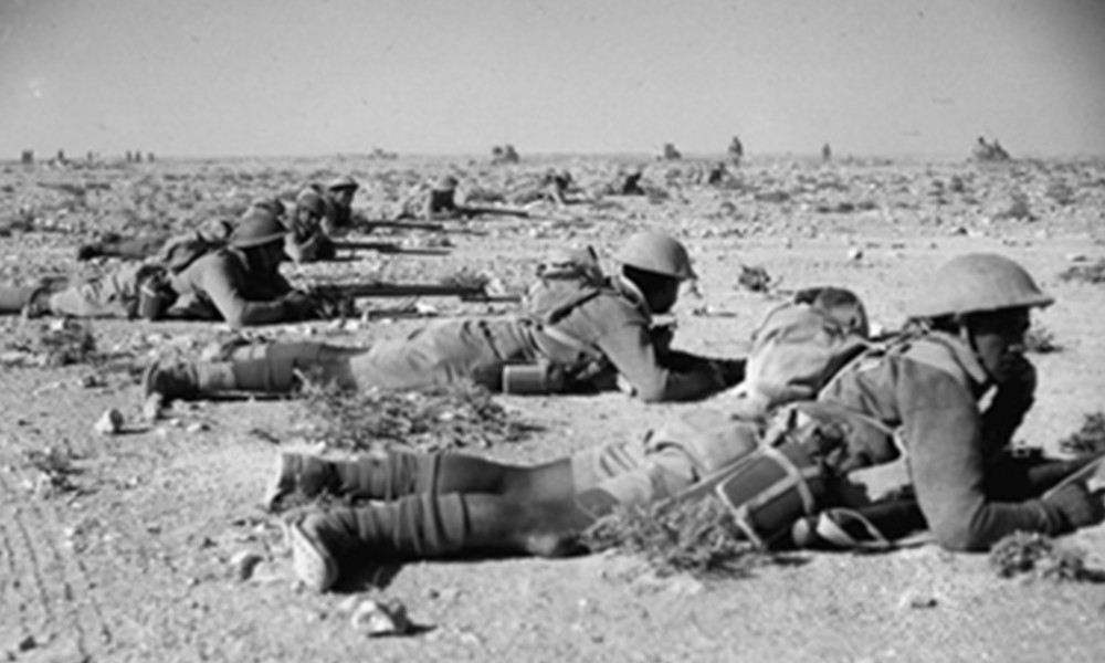 - New Zealand Infantry on Manoeuvres in Egypt, 1941 (Ref: DA-02134-F. Alexander Turnbull Library, Wellington, New Zealand)
